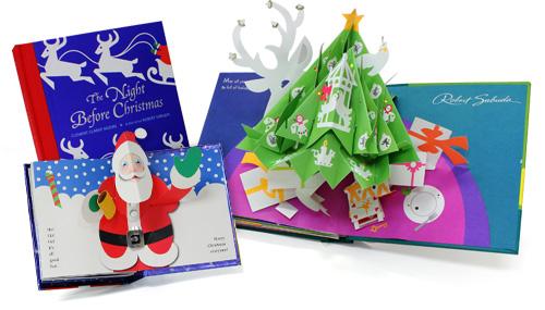 해외 수입 크리스마스 팝업북 (선택가능)
