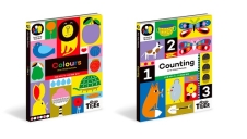 Learning Garden 플랩북 (숫자/색깔) 2종