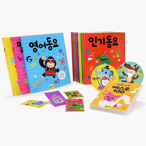 핑크퐁 CD북 5종
