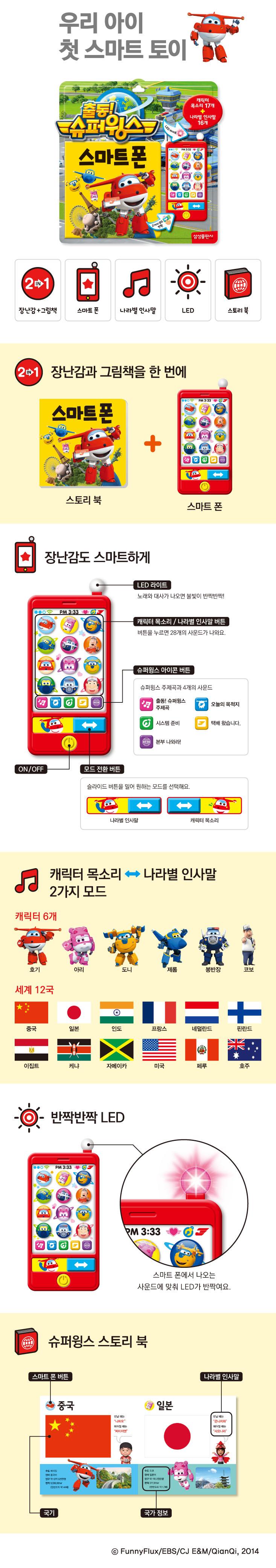 삼성출판사 스마트폰 출동! 슈퍼윙스