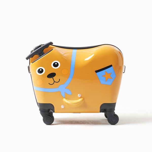 [Oops] 라이딩 키즈 캐리어 - 곰